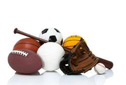 Sports Safety   Child Safety and Injury Prevention  CDC Injury Center photo  sports equipment