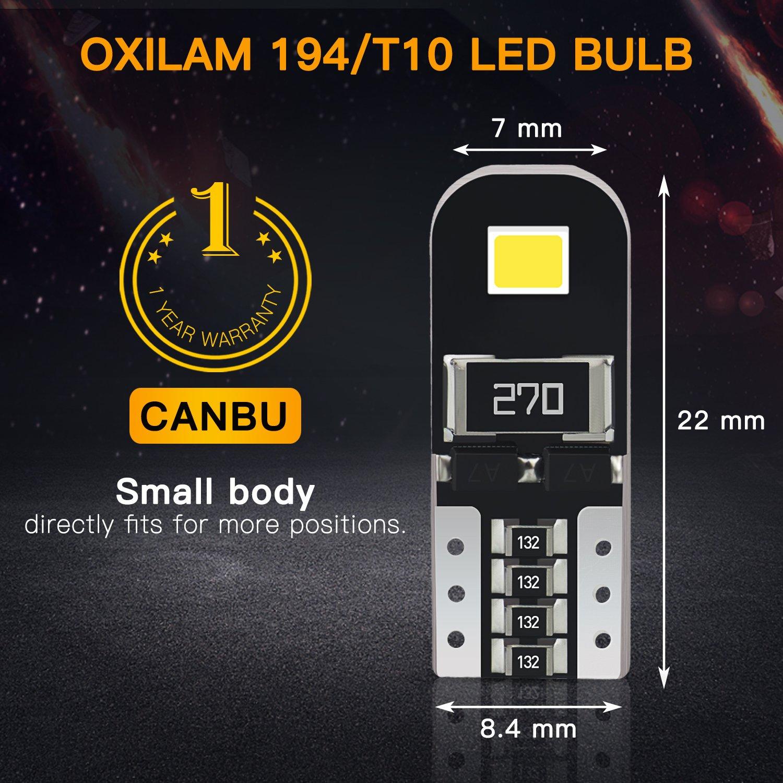 Front Side Marker Light Bulb Size 168