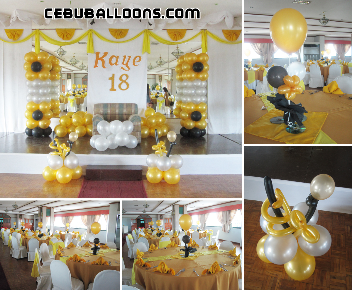 Sweet 16 Balloon Decoration Package Cebu Balloons And