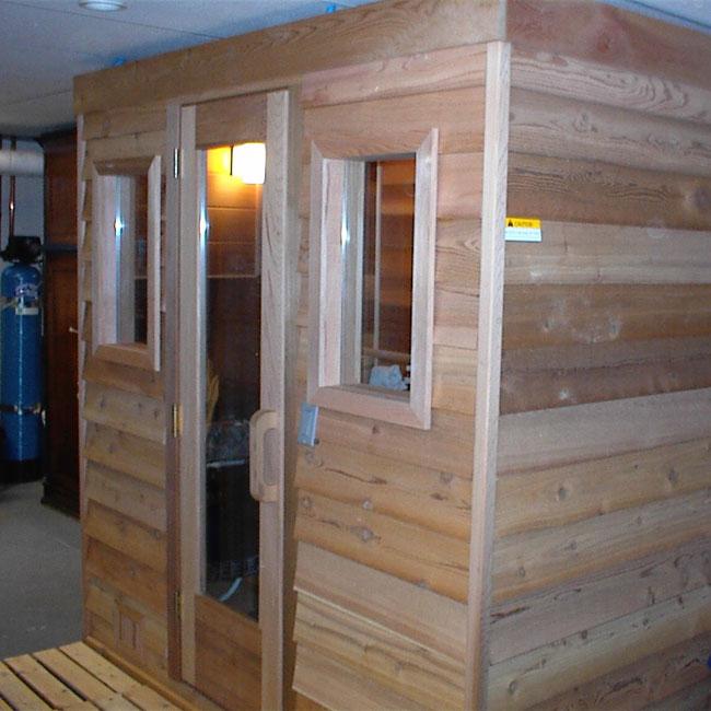 5 X7 Home Sauna Kit Heater Accessories