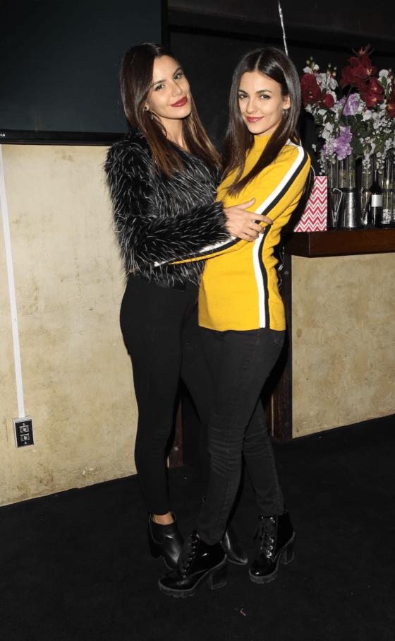 Victoria Justice Celebrates 25th Birthday At Katana