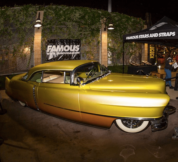 Travis Barker s Custom  54 Cadillac   Celebrity Cars Blog     Travis Barker 1954 Cadillac