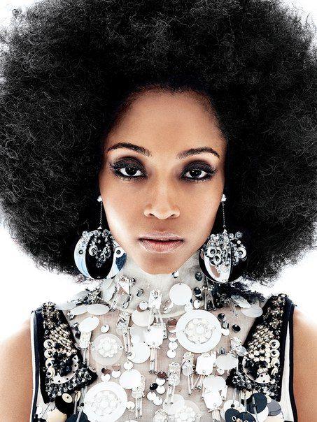 African American Hair Color Brown