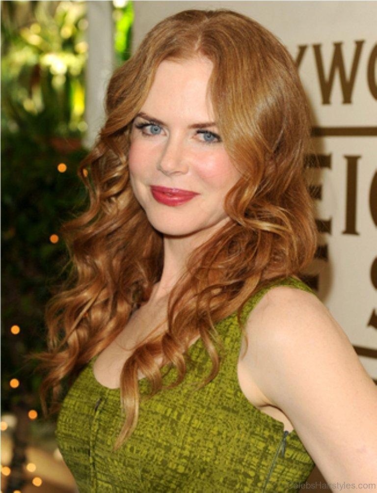 Nicole Kidman Curly Bob