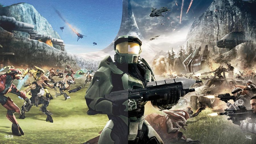 Halo   Top 100 Best Video Games   2       CelJaded CelJaded Top 100  Best Video Games   2   Halo Anniversary Artwork Banner