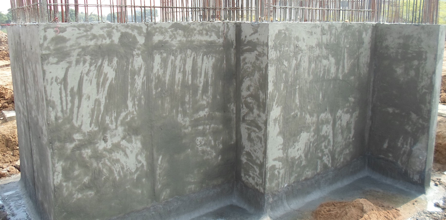 Crystalline Waterproofing