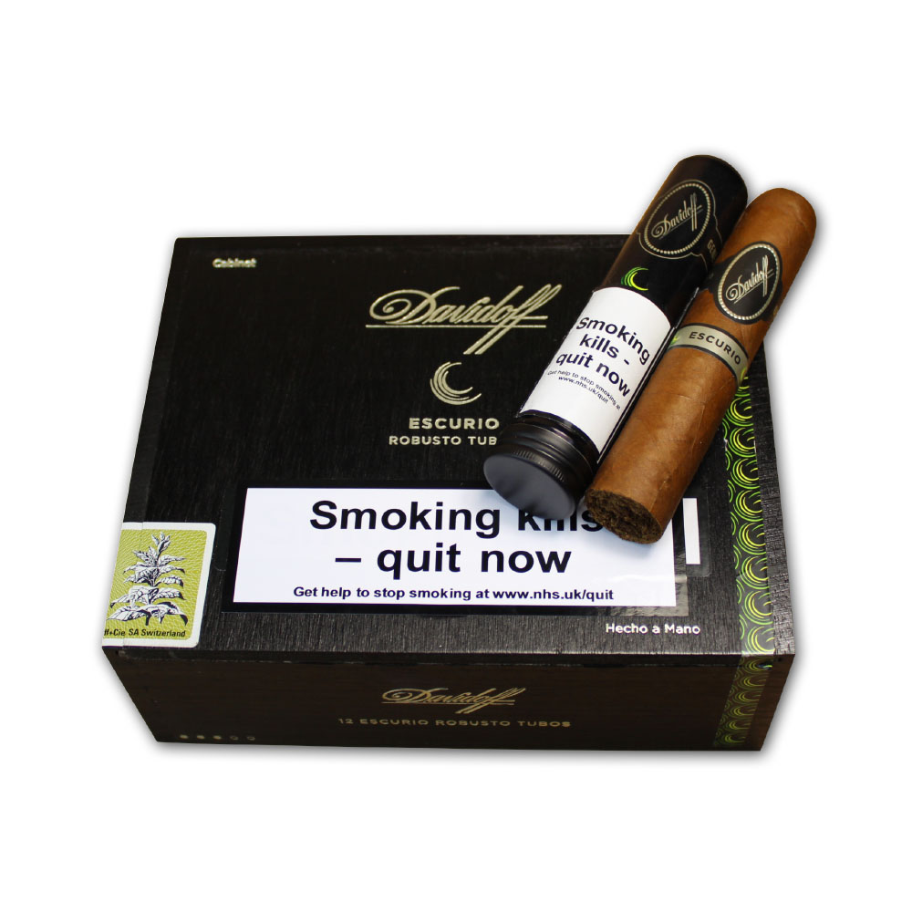 Davidoff Escurio Robusto Tubos Cigar - Box of 12