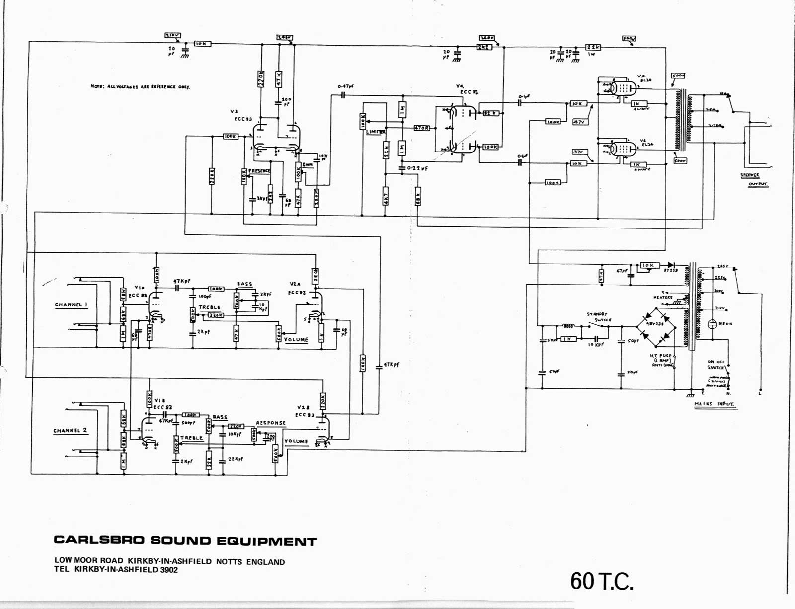 Bass Cabinet Wiring Diagrams
