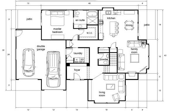Old Age Home Architectural Design