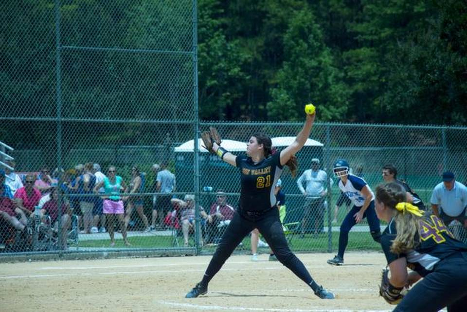 Sun Valley pitcher Brittany Pickett was named the state ...
