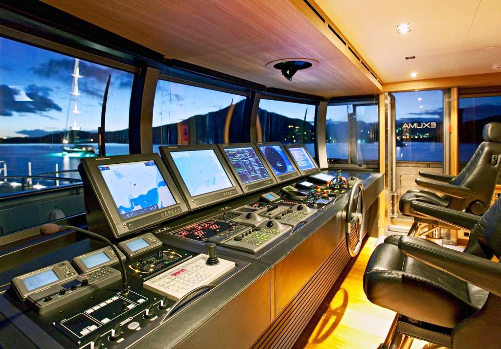 Azzam Yacht Interior