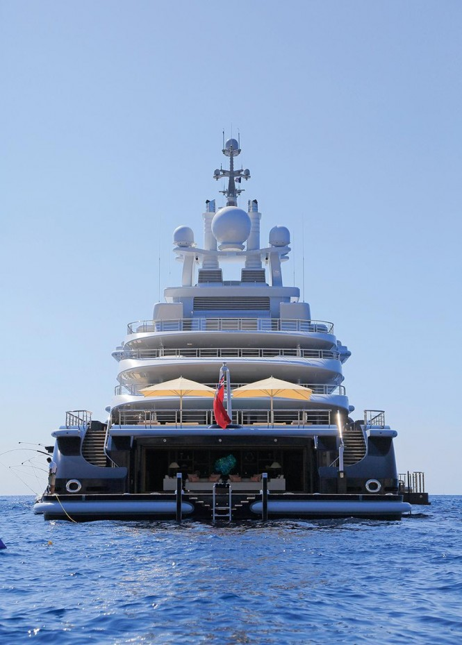 The Top Pools On Private Yachts Yacht Charter