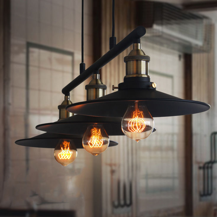 Retro Hanging Ceiling Light Vintage Industrial Pendant