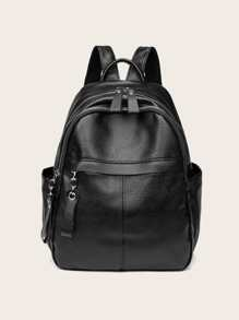 Curved Top Backpack