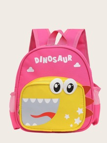 Girls Cartoon Graphic Backpack