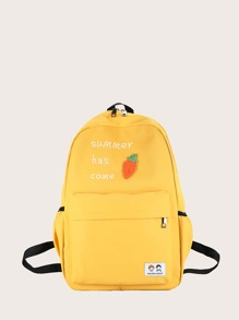 Girls Letter Graphic Backpack