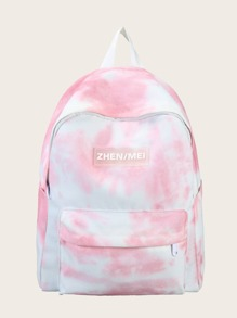 Girls Tie Dye Backpack