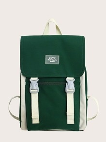 Release Buckle Flap Backpack