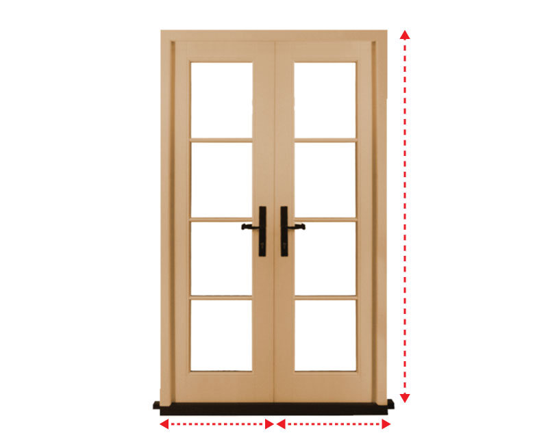 Made Measure Internal French Doors