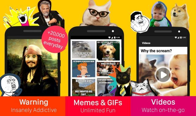 Image of: Madlipz 9gag Funny Apps For Android And Ios Funny Apps You Need To Download For Android Or Ios