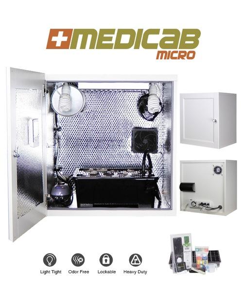 Medicab Micro Hydroponic Grow Box