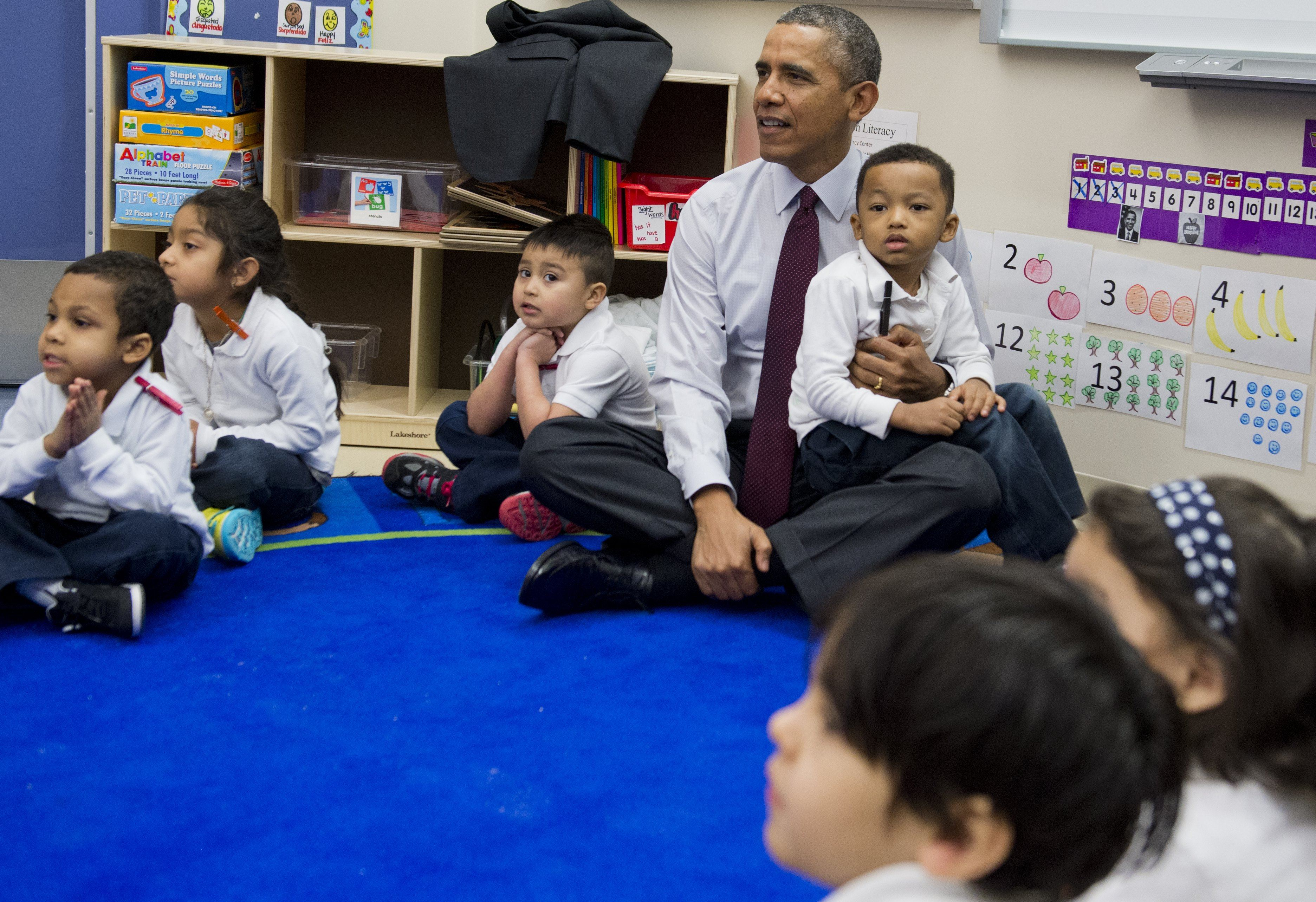 Watch How Barack Obama and Donald Trump Treat Kids: We ...