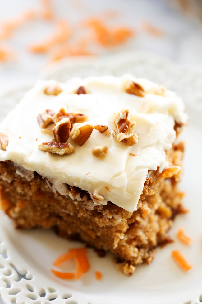 Best Ever Carrot Cake Chef In Training