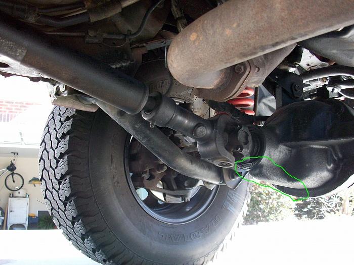 Jeep Cherokee Front Pinion Seal