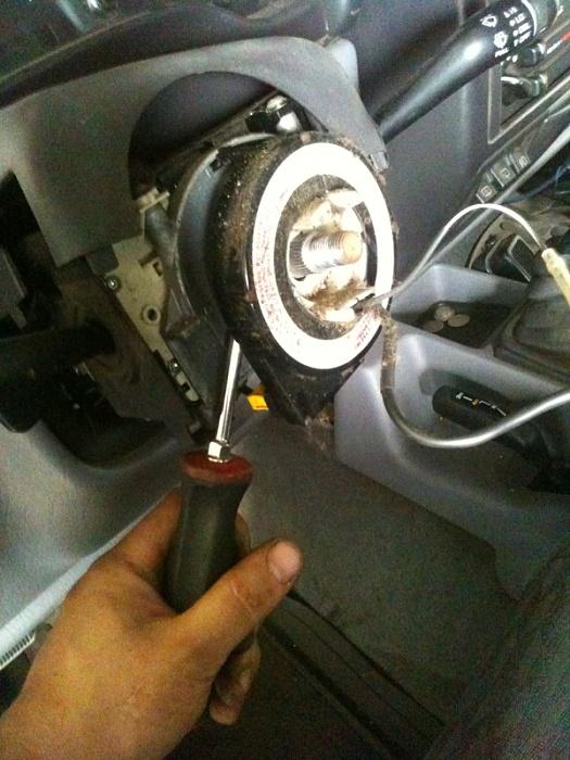 Steering Cover Plastic Column Wheel