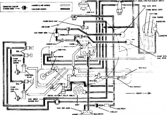 2001 Dodge Ram 1500 4x4 Vacuum Line Diagram