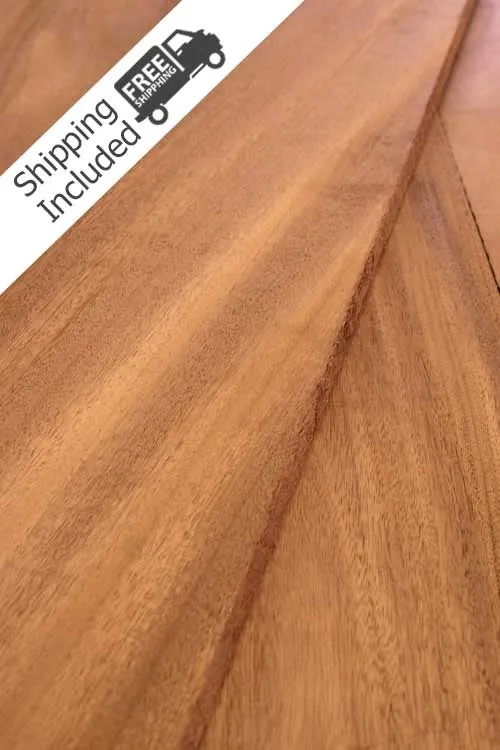 African Mahogany Lumber Pack Cherokee Wood Products   African Mahogany Stair Treads   Dolphin   Stair Parts   Hardwood Lumber   Sapele   Floor