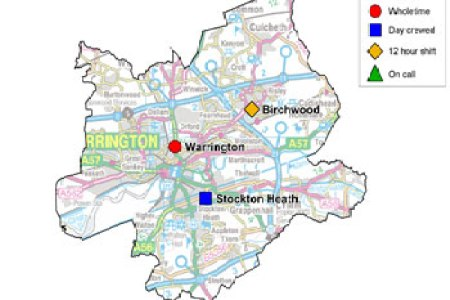 map of warrington town centre map of usa map of the world » Free ...