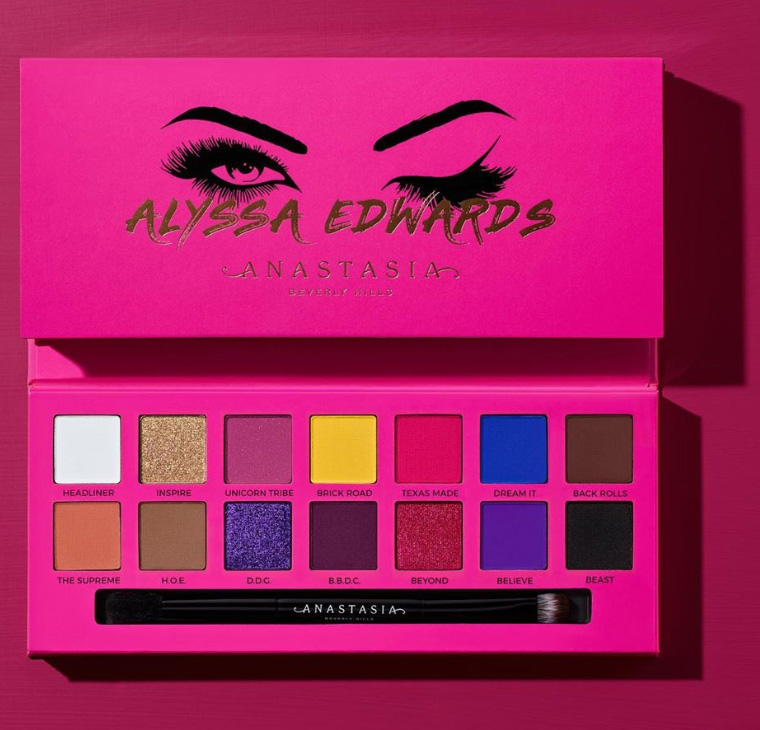 Anastasia Beverly Hills Alyssa Edwards Eyeshadow Palette 4 Beauty Trends And Latest Makeup