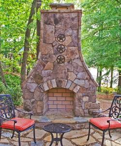 Outdoor Fireplace Safety And Maintenance Atlanta Chimney