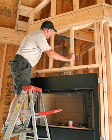 Wood Burning Fireplaces Zero Clearance Wood Burning