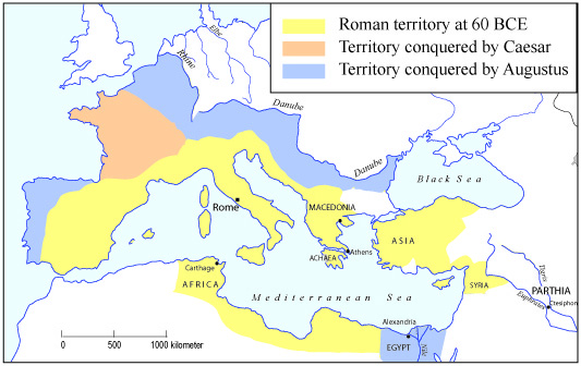 Concord Did Much Land How Augustus Map