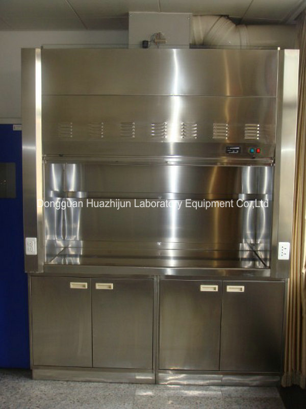 Durable Stainless Steel Fume Hood Chemical Resistant