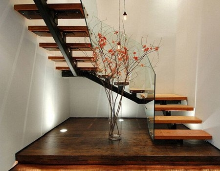 U Shaped Staircase Demax Arch   U Shaped Staircase Design   Round Shape   Traditional   House   Tiny   L Shaped
