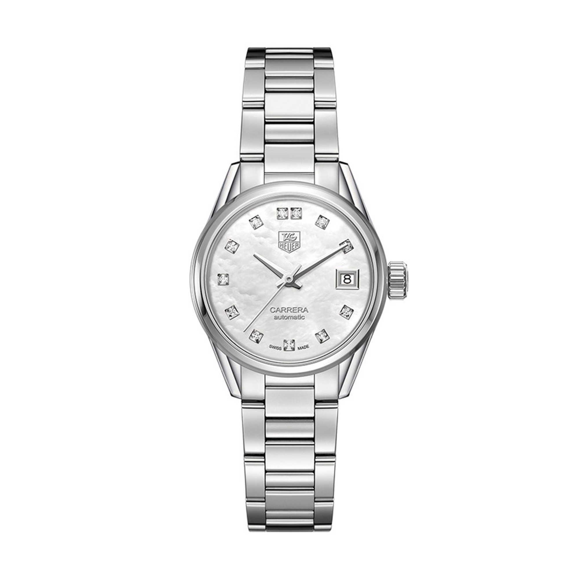 Tag Heuer Carrera Automatic Stainless Steel Bracelet Watch