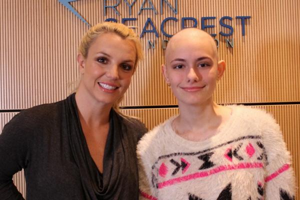 Britney Spears Surprises Choc Children S Hospital Choc