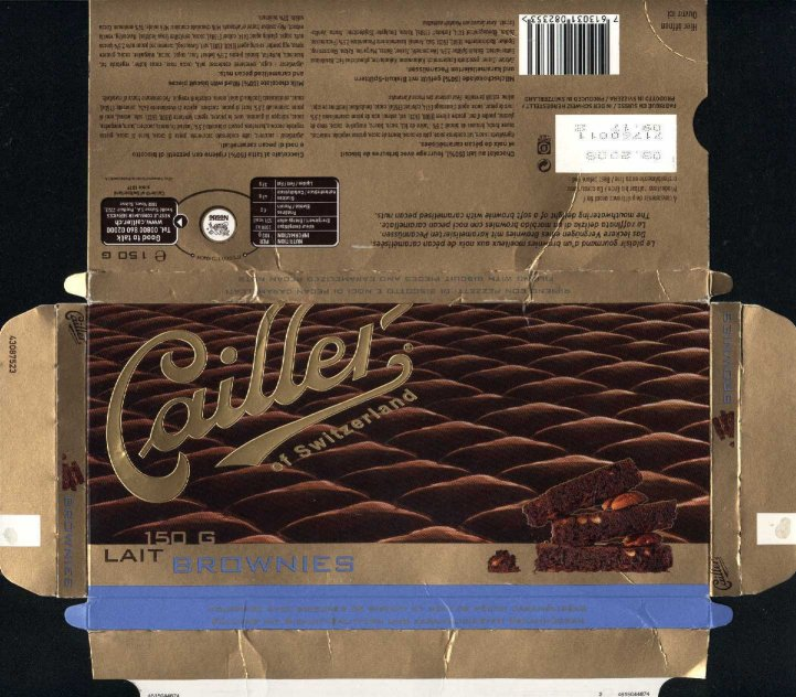 Cailler Swiss Chocolate