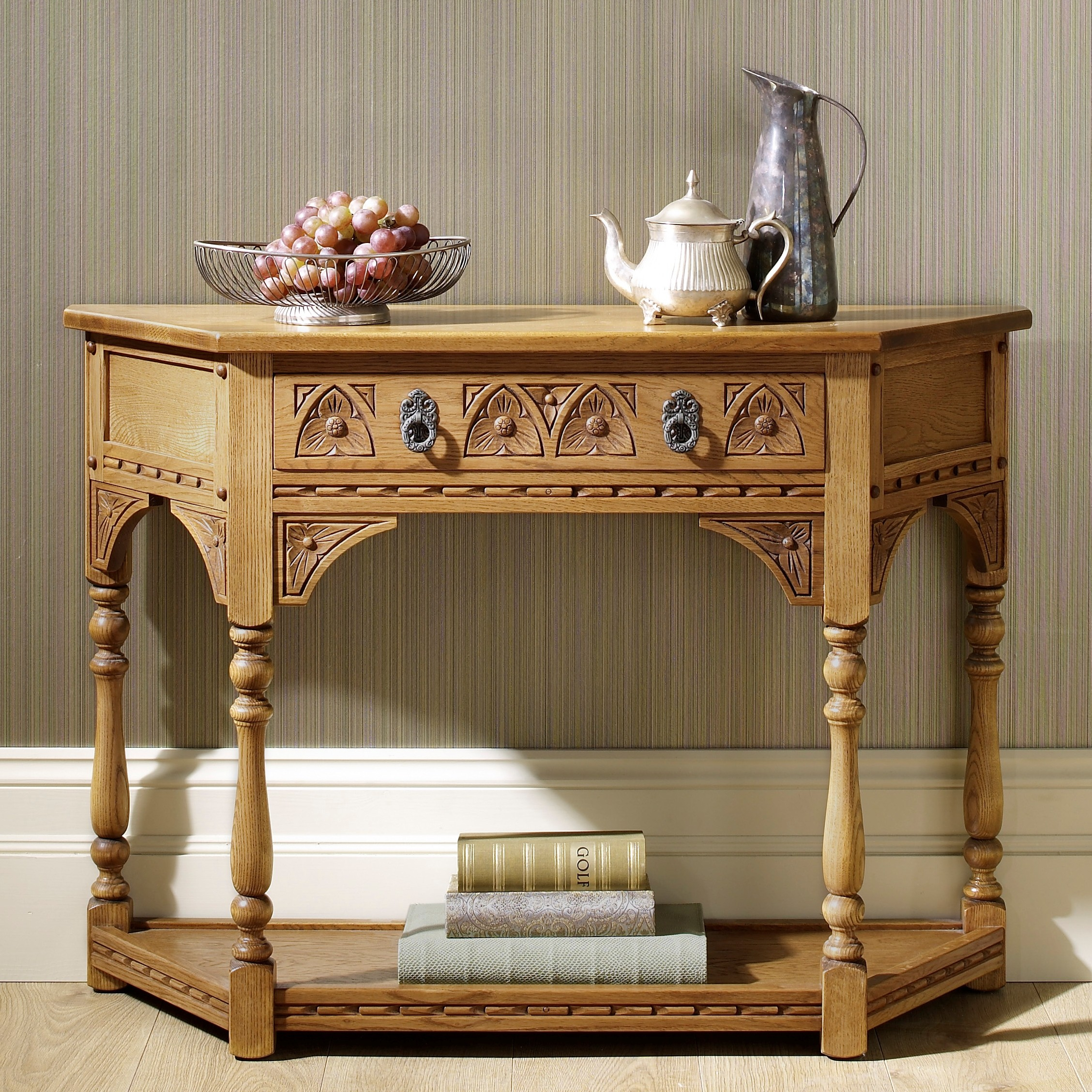 Wood Bros Canted Console Table Choice Furniture
