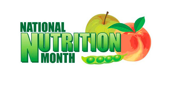 2018 National Nutrition Month Logo