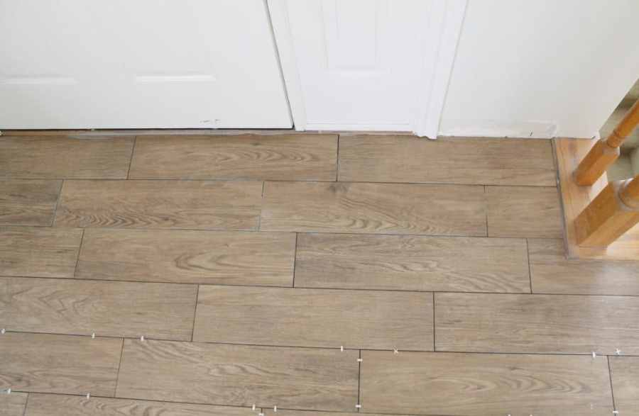 Tips for Achieving Realistic Faux Wood Tile   Chris Loves Julia Tips for Achieving Realistic Faux Wood Tile