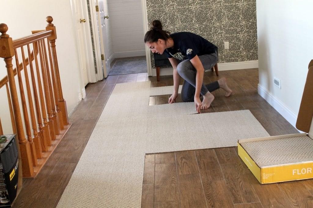 Flor D Chris Loves Julia | Carpet Tiles For Stairs | 18 Inch | Interior | Contemporary | Children's | Tile Stair Treads