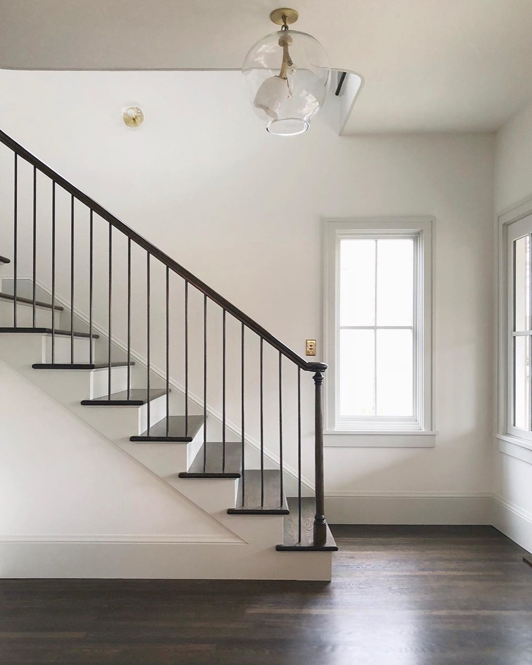 The Top Staircase Railing Inspiration Photos We Re Using To Design   Top Of Stairs Banister   Indoor   Rail   Barn Wood   Residential   Different Color