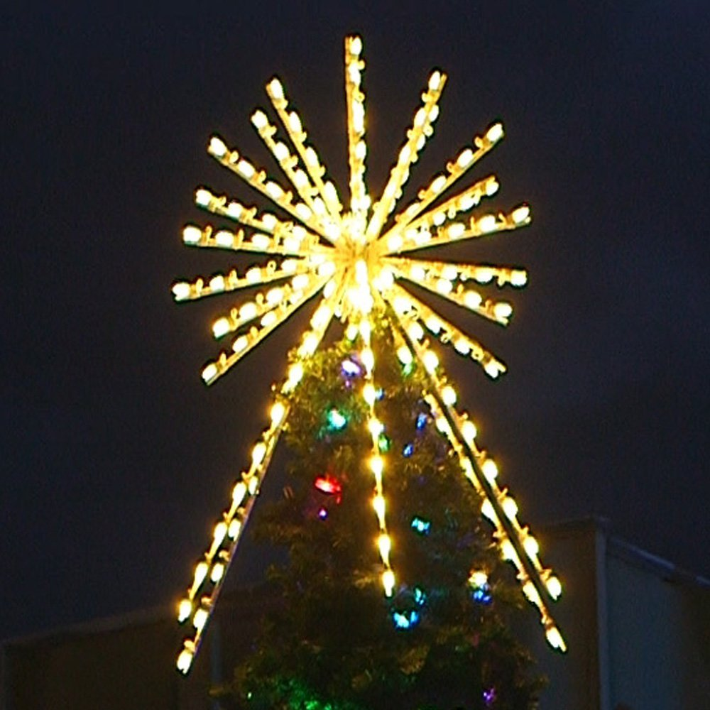 commercial lighted christmas tree topper - Lighted Christmas Tree Toppers