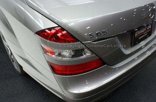 Chrome Car Letters Oem Automotive 3d Chrome Lettering