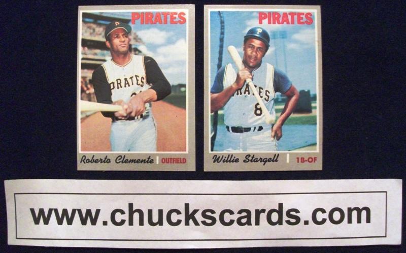 1970 Cardinals Cards Topps Baseball