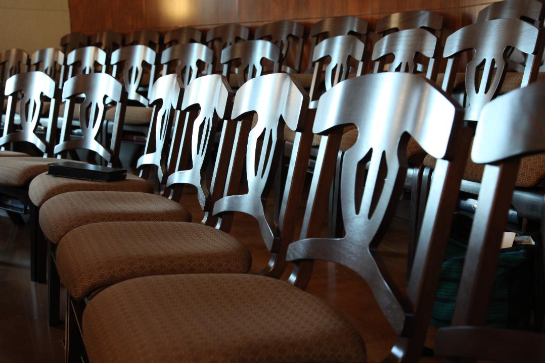 Church Choir Chairs Oak Lock Ply Harp Ply Bent